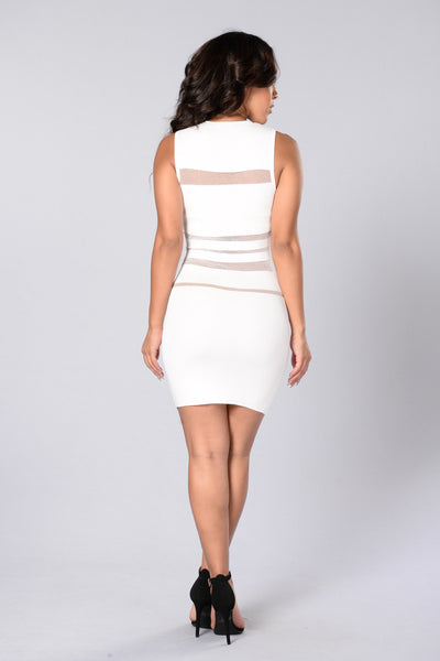 All Access Dress - White