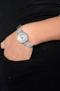 Never On Time Watch - Silver