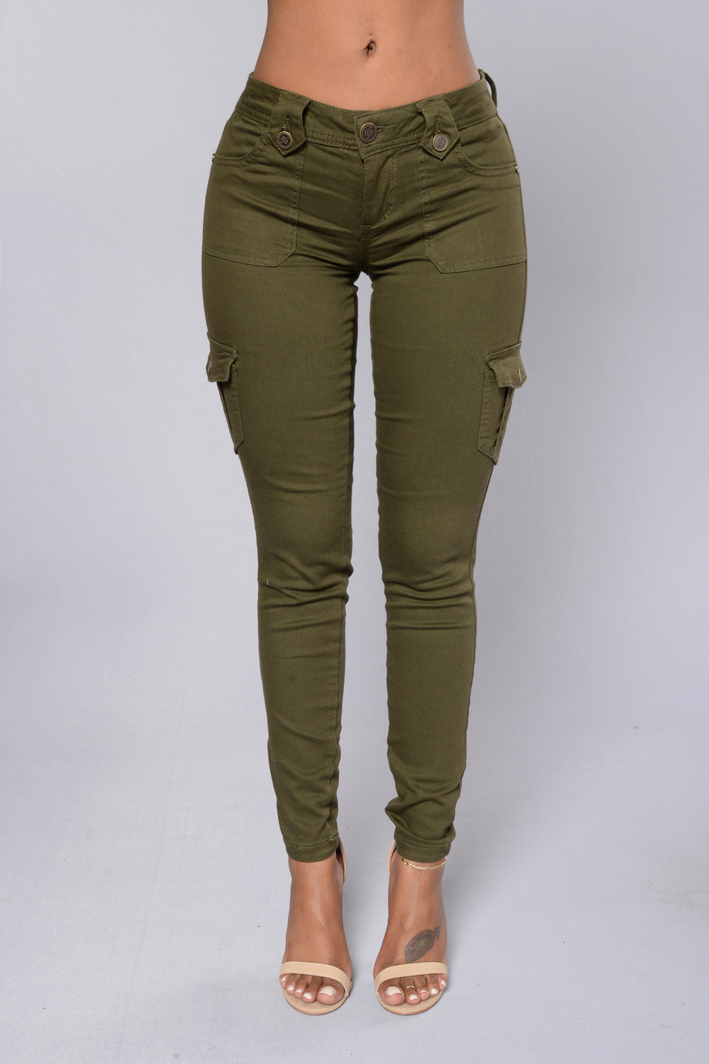 Army Strong Pants - Utility Green