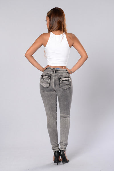 Dusk 'Til Dawn Jeans - Acid Grey