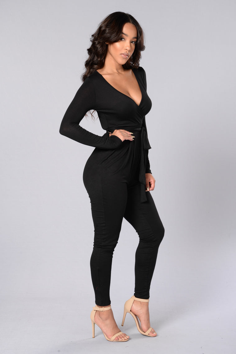 Noelle Jumpsuit - Black