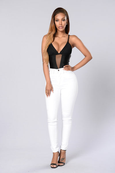 Raise Hell Bodysuit - Black
