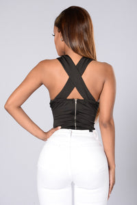 Deep End Bodysuit - Black