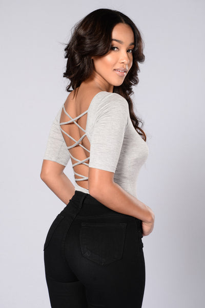 Everlasting Bodysuit - Heather Grey