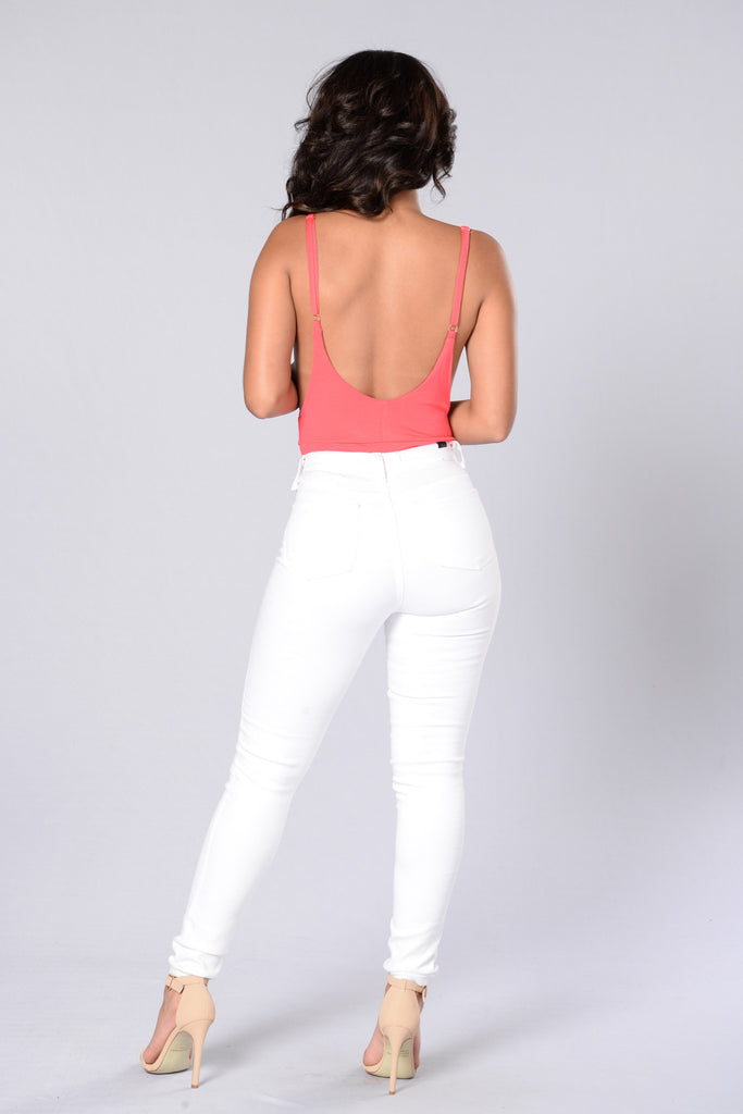 Let it Go Bodysuit - Coral