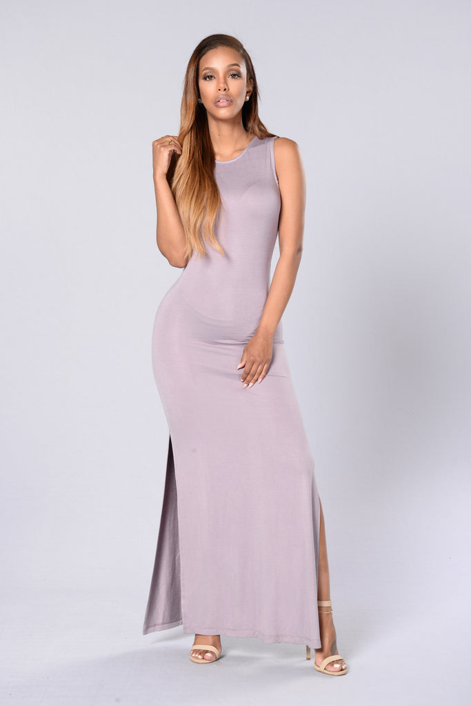 Set Me Free Dress - Mauve