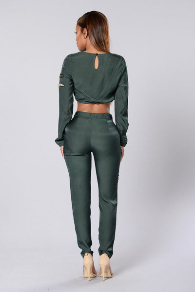 Piper Pants - Hunter Green