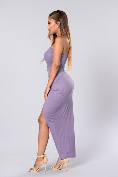 Hit or Miss Tube Dress- Lavender