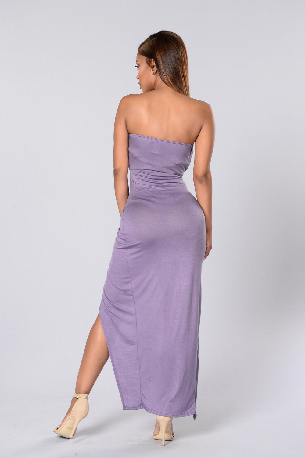Hit or Miss Tube Dress - Lavender