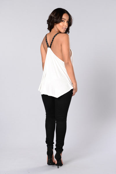 Clean Track Record Tank - White