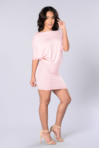 Evelyn Top - Dusty Pink