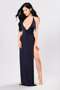 Alexandra Dress - Navy