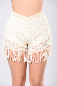 Daydream High Rise Shorts - Natural