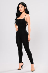 Aim Right Jumpsuit - Black