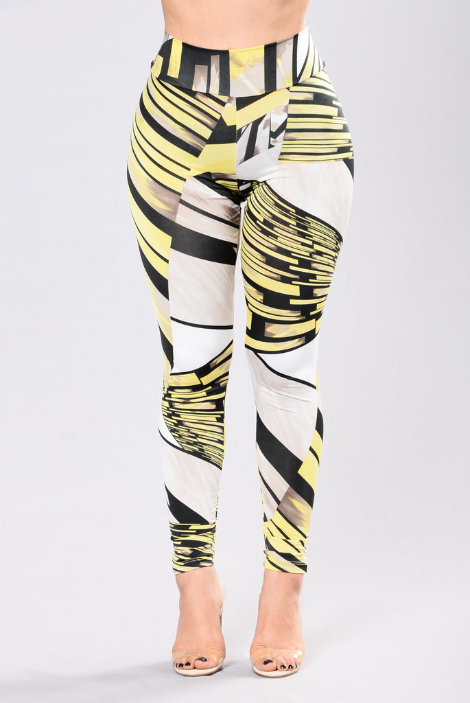 Donata Venezia Leggings - Yellow