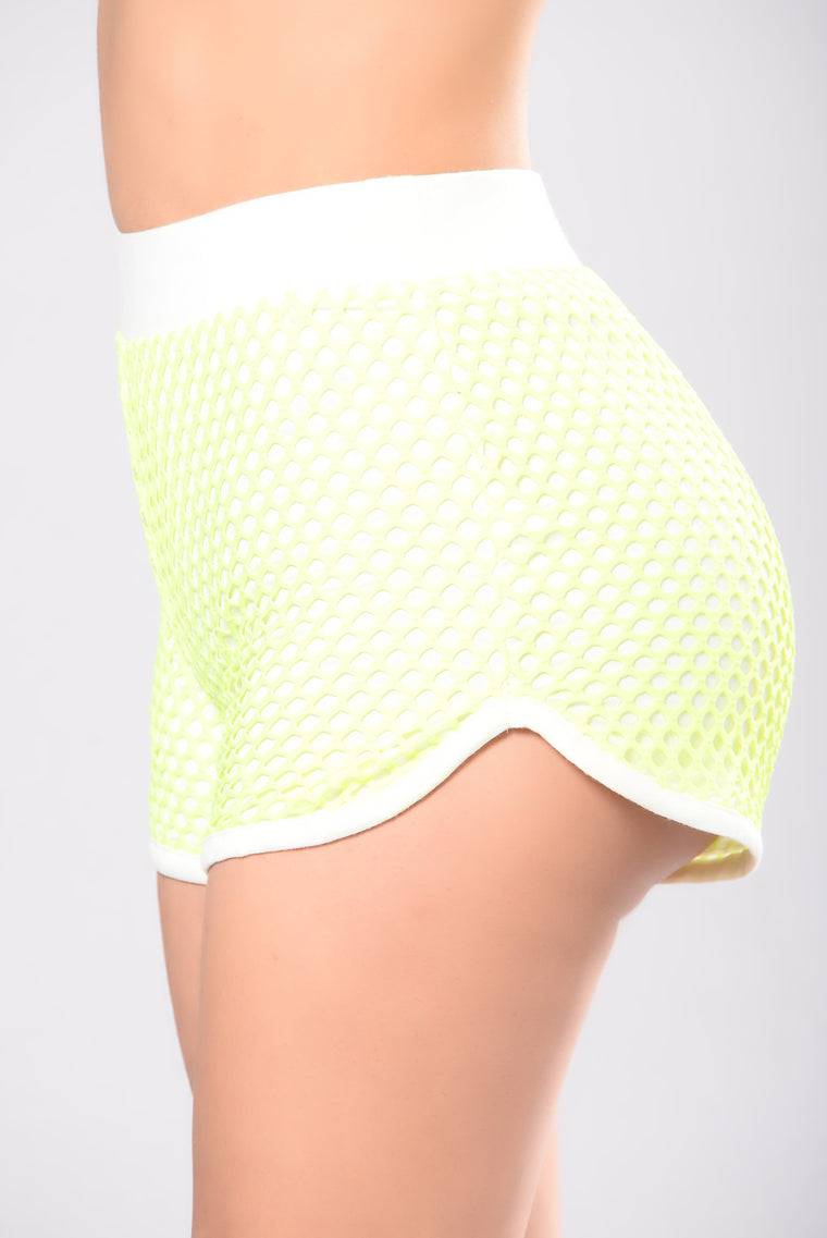 Zoe Set - Neon Yellow