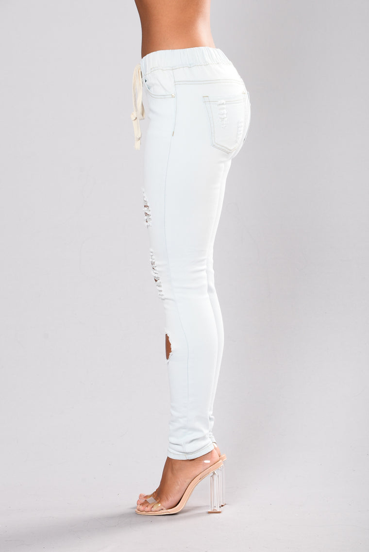 Melly Joggers - Light Blue