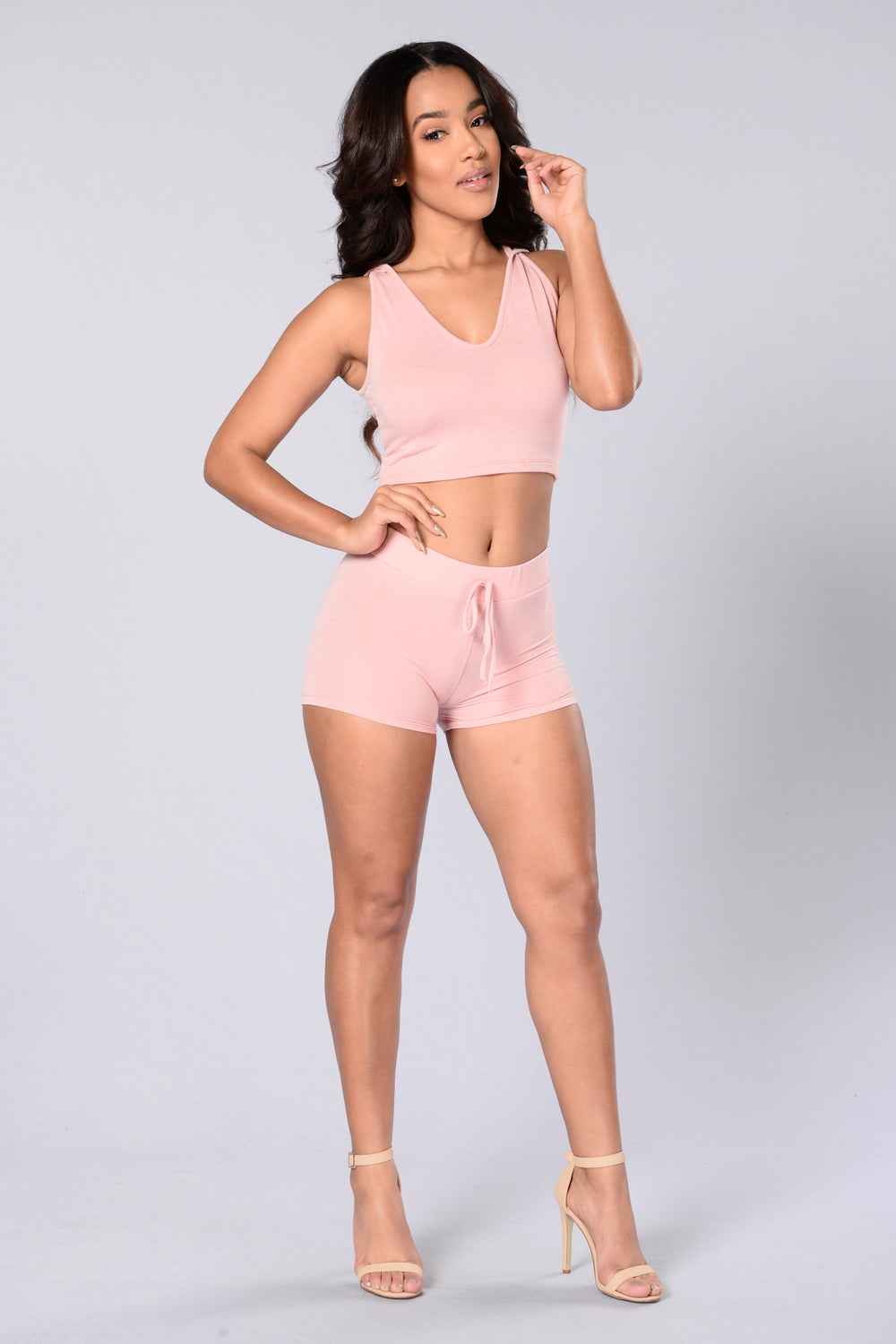 Jet Set Shorts - Blush