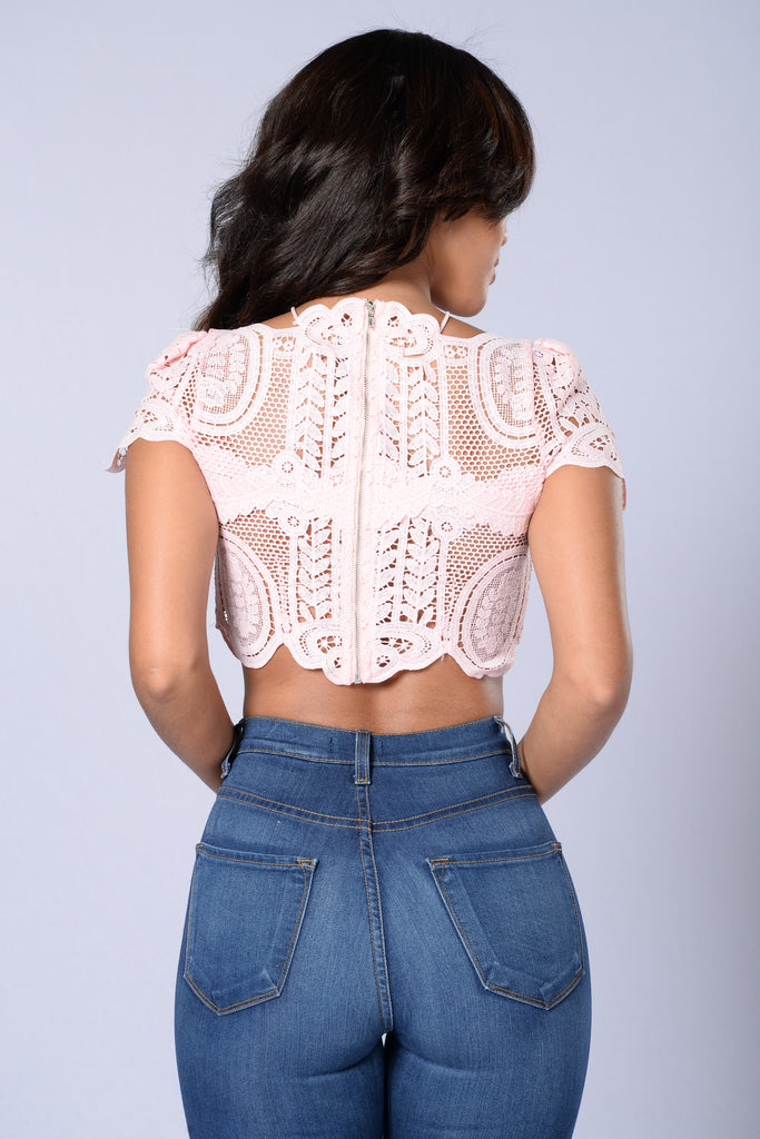 Summer Fling Top - Baby Pink