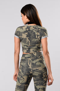 Cam On Baby Top - Camo