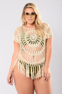 Dancing In The Full Moon Tunic - Natural