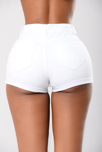 Boys To The Yard Shorts - White