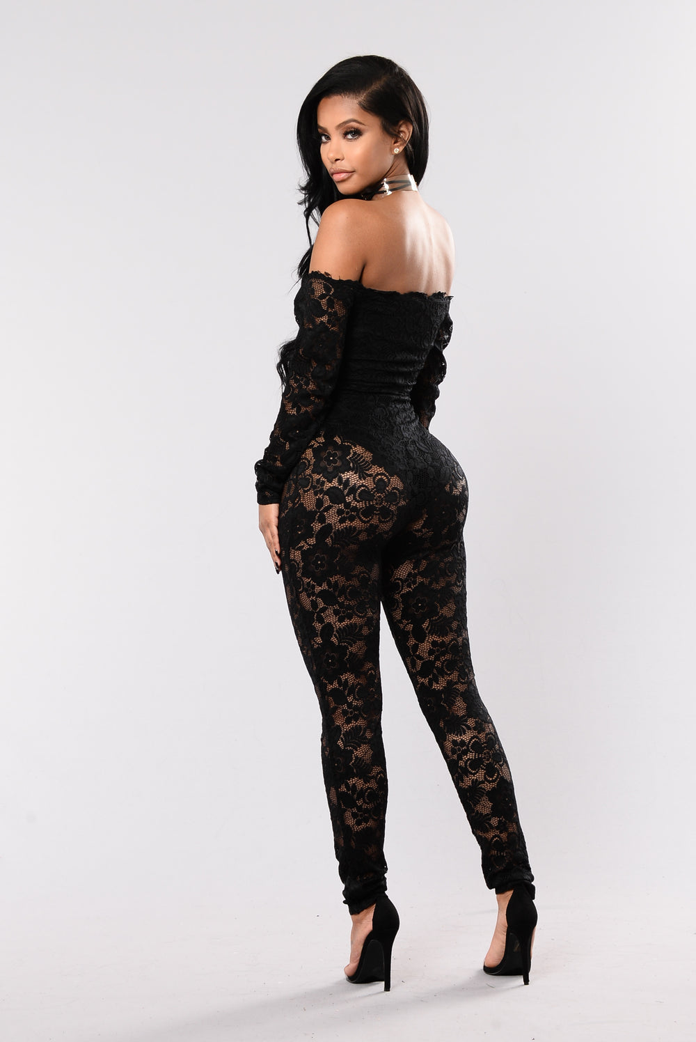 The Sweetest Taboo Jumpsuit - Black