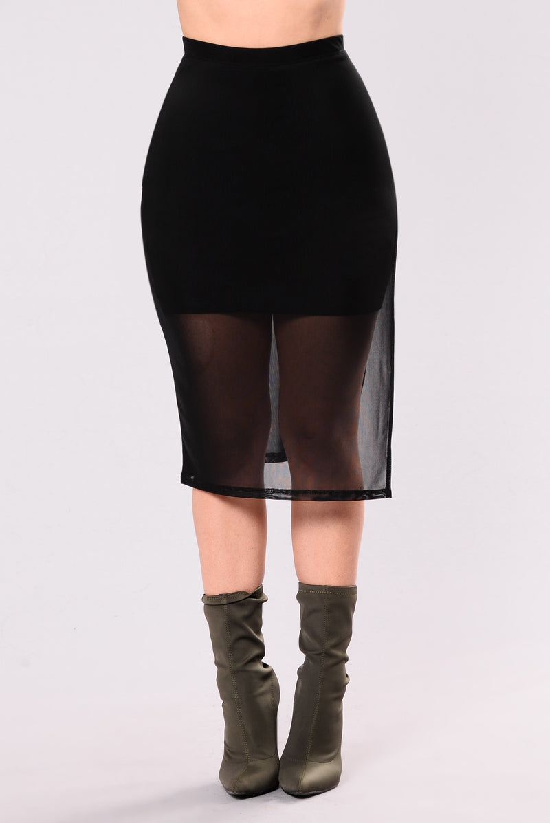 Camilla Skirt - Black