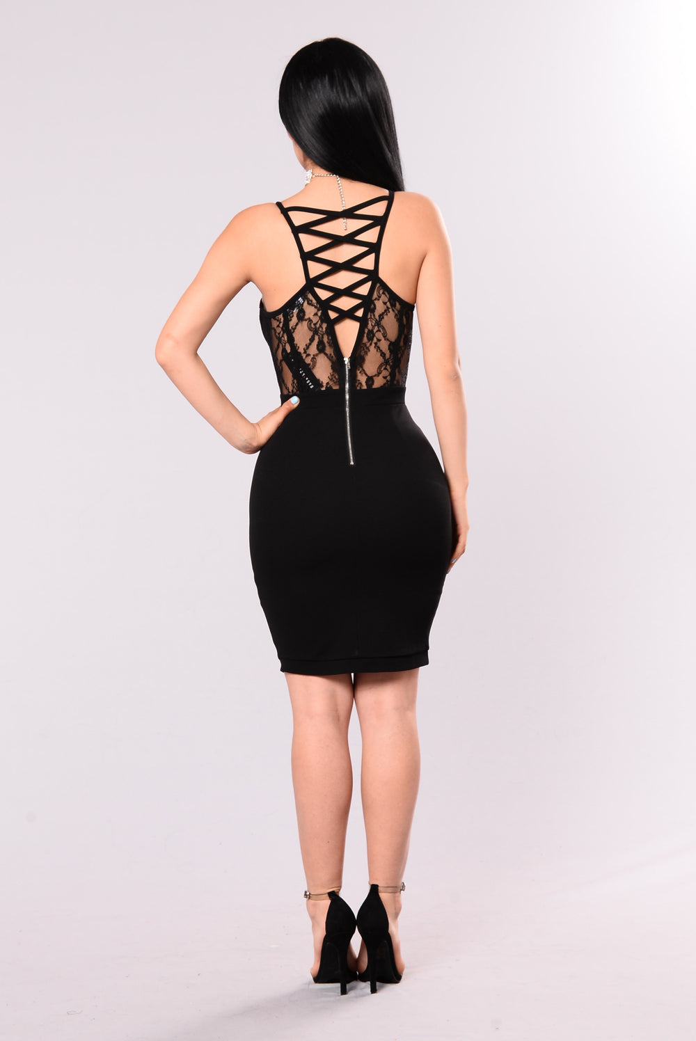 Focused On You Dress - Black