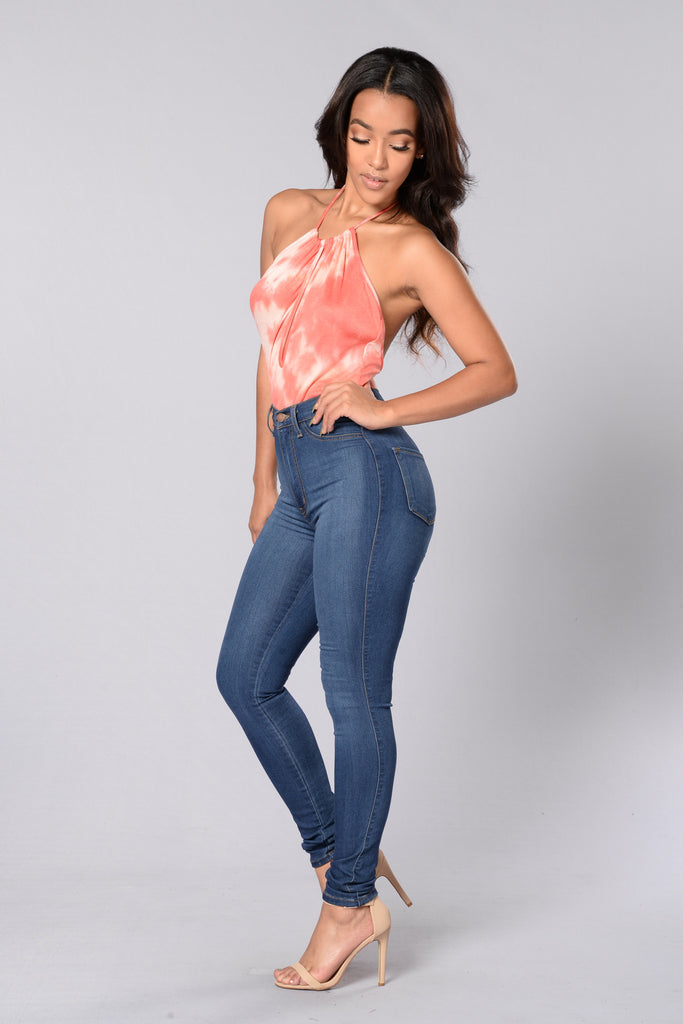 Do Or Dye Bodysuit - Pink