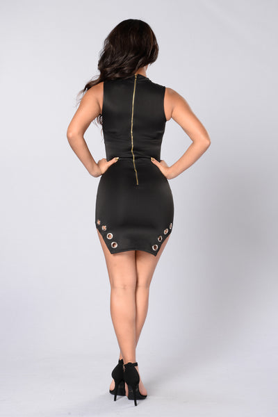 Outta This World Dress - Black