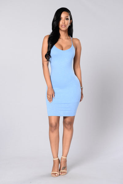 Think Of Me Dress - Blue