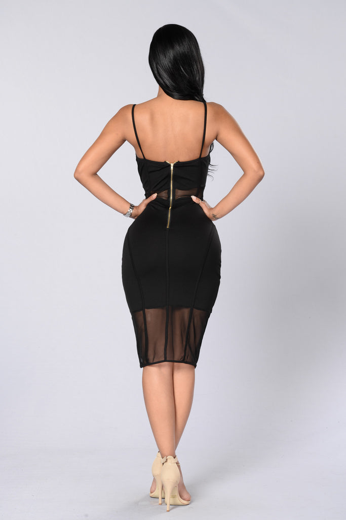 Private Party Dress - Black