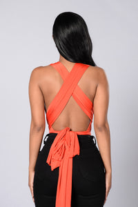 Show You How Bodysuit - Tangerine