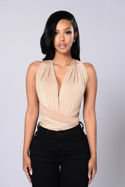 Show You How Bodysuit - Nude