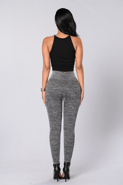 Coal Digger Legging - Charcoal
