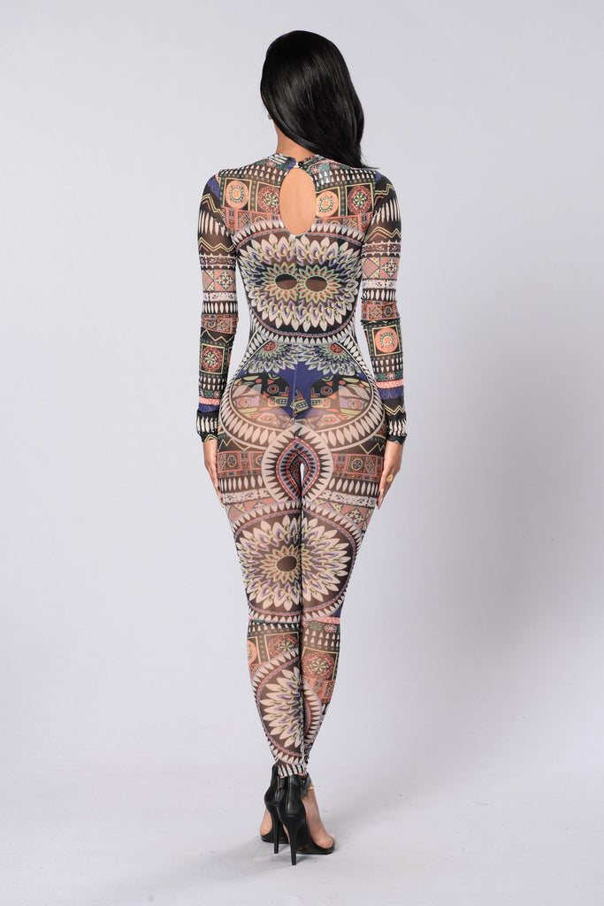 Kaleidoscope Jumpsuit - Multi