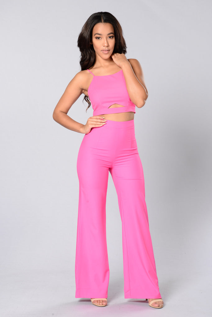 Gianni Pants - Hot Pink