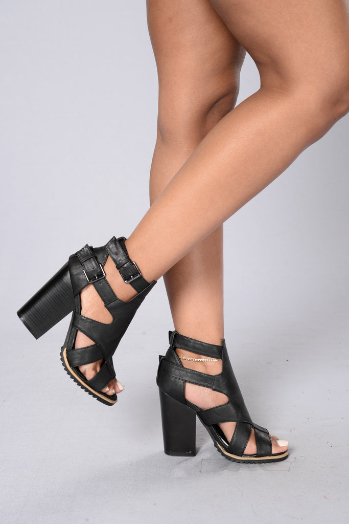 Bang Bang Heel - Black
