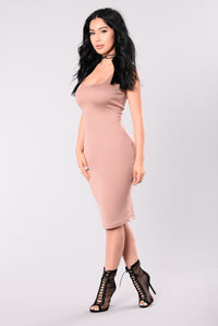 My Type Midi Dress - Mocha