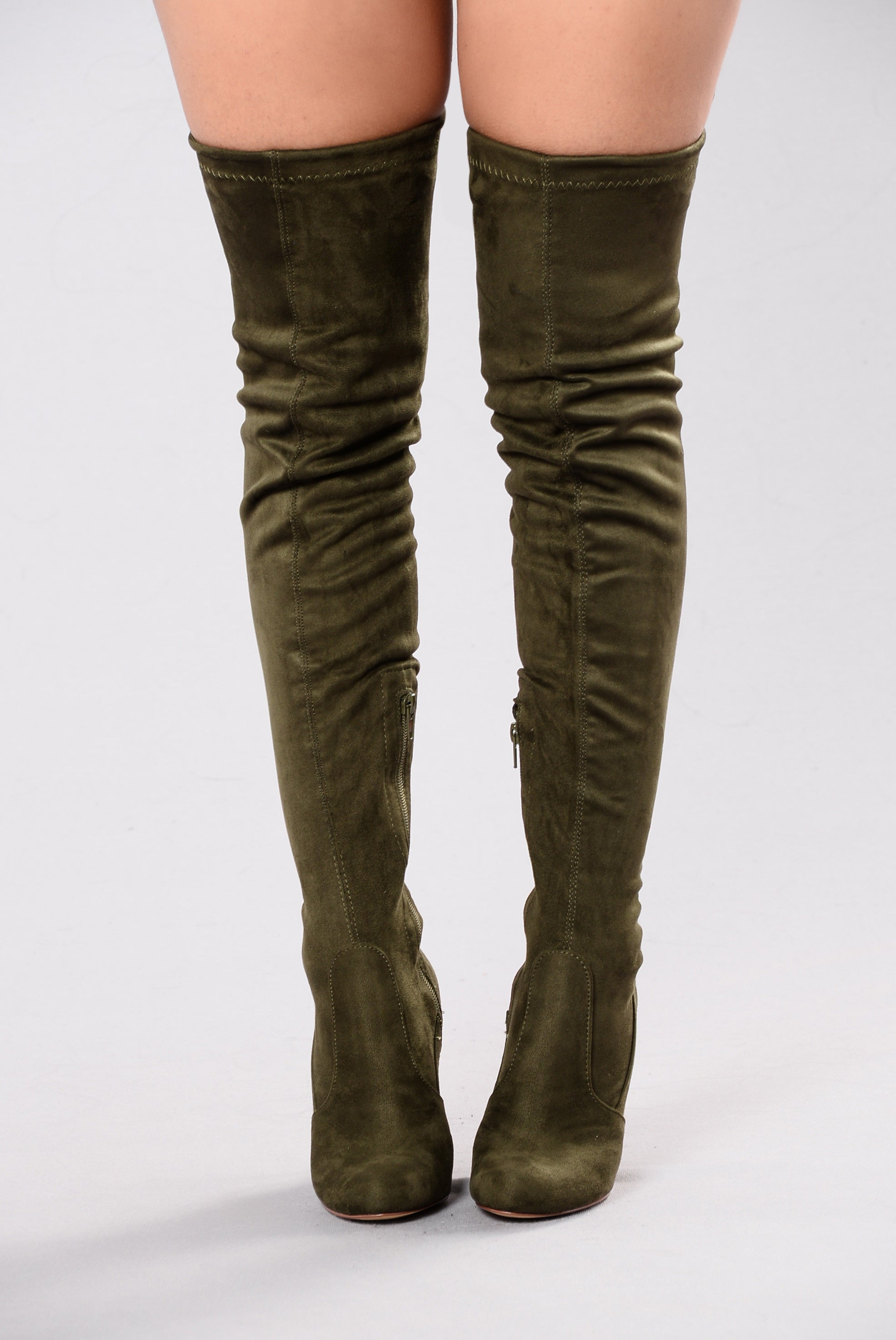 best fashion thigh high boots plus size legs