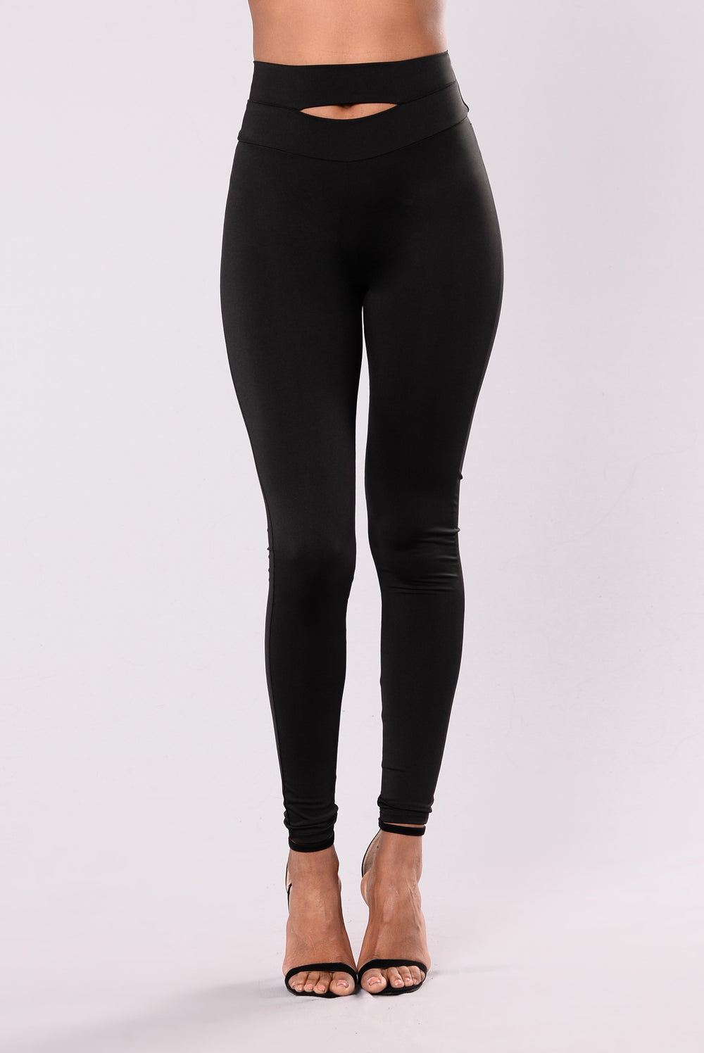 Mark My Words Leggings - Black