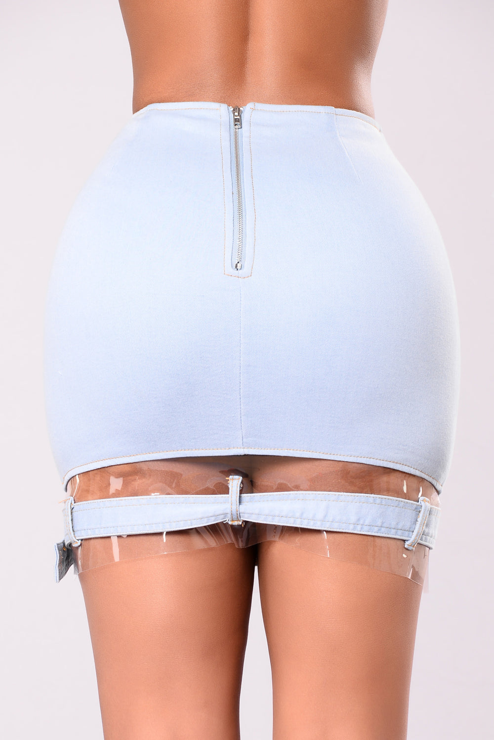 Lilo Denim Skirt - Sky Denim