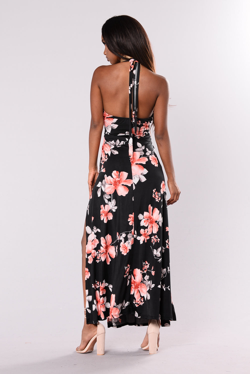 Oahu Nights Dress - Black