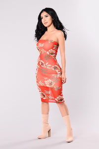 My Flower Dress - Red