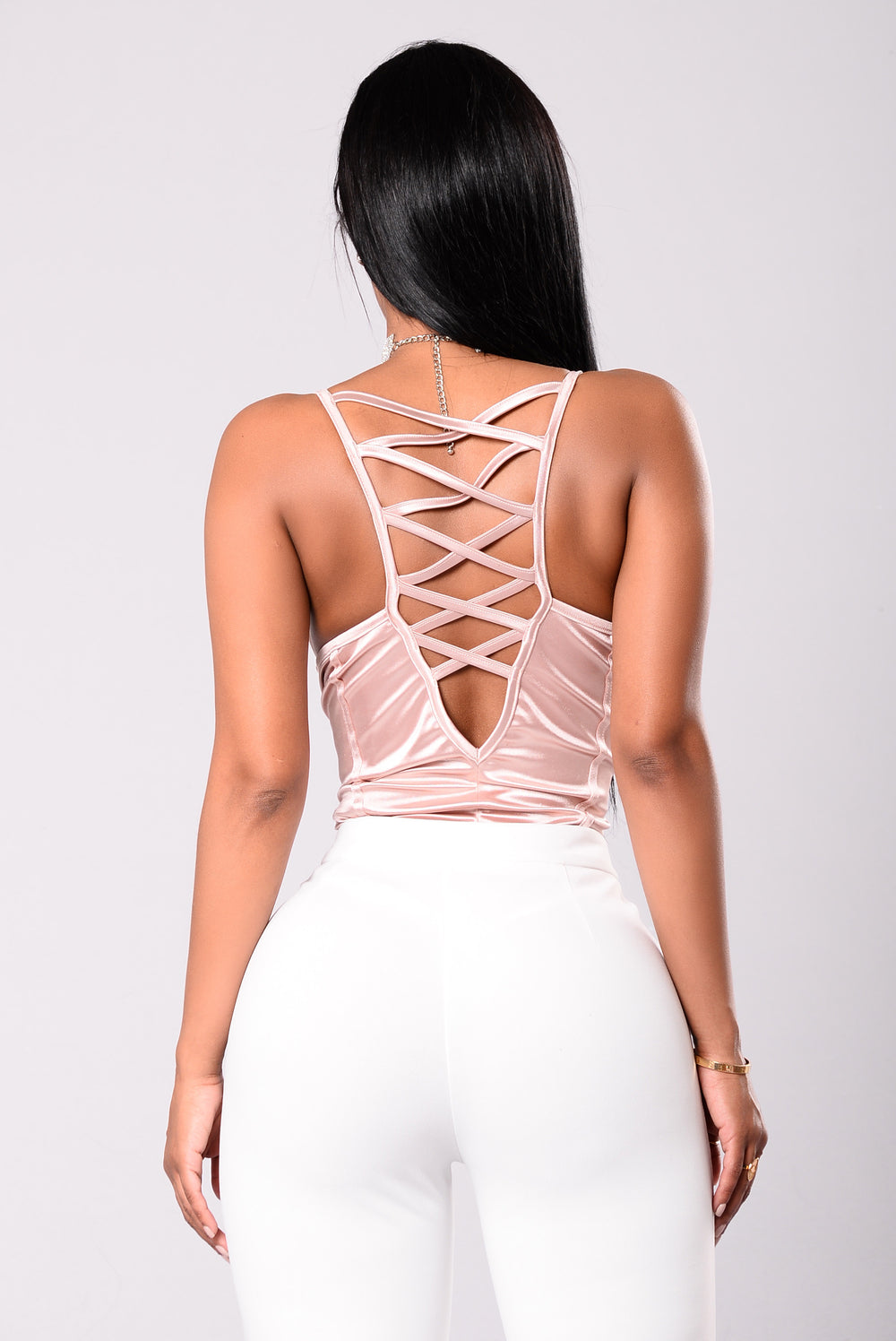Beautiful Now Bodysuit - Dusty Pink