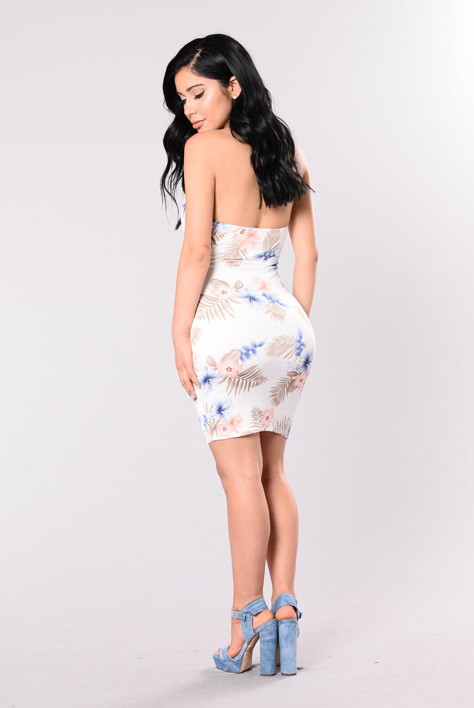 Picked My Fave Dress - Ivory Floral