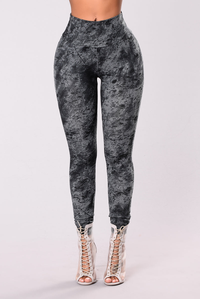 Legendary Leggings - Black/Grey