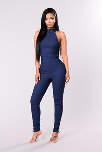 For You Jumpsuit - Dark Denim
