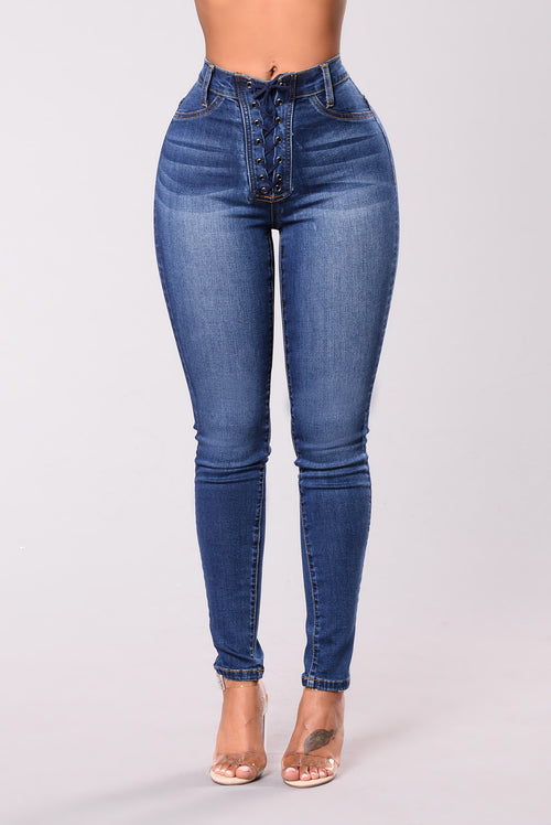 Just A Taste Jeans - Medium Wash